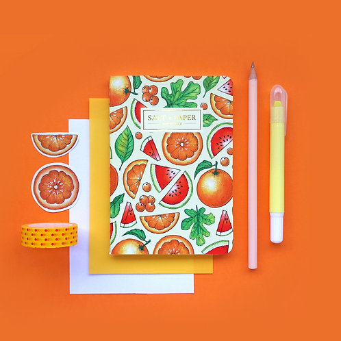 Salt x Paper | Notebook | Watermelons & Oranges