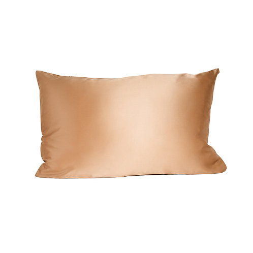 iWell Natural   Pillowcase - Rose Gold
