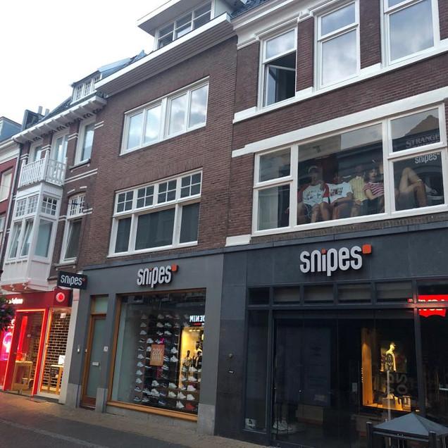 Snipes verbouwing Utrecht