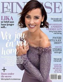 Ferreira Couture Finesse Voelgoed Tydskrif Voorblad Rok