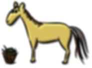 Horse vector by Irene Ferreira