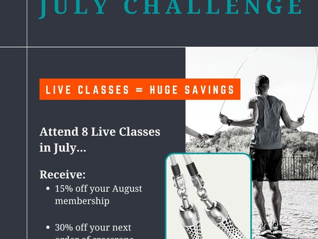 July Challenge Is On!!!