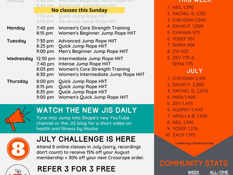 July 16, 2021 Newsletter