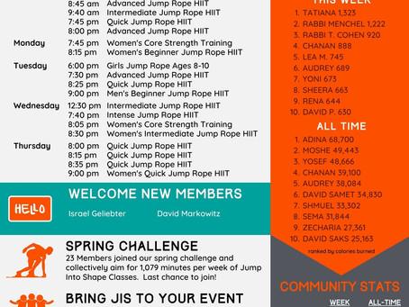 Newsletter - Host a free JIS class