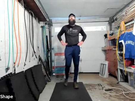 Dave Hunt (founder, CEO of Crossrope) @ Jump Into Shape Class