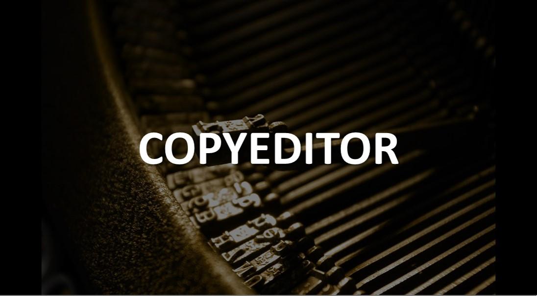 copyeditor