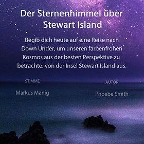 Der Sternenhimmel über Stewart Island