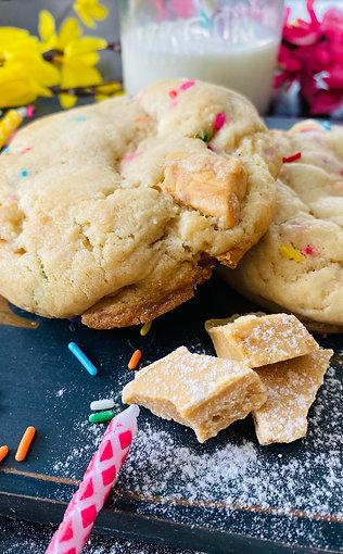 Birthday Cake Frozen Cookie Dough (Box of 6)