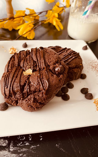 Double Chocolate Frozen Cookie Dough (Box of 6)