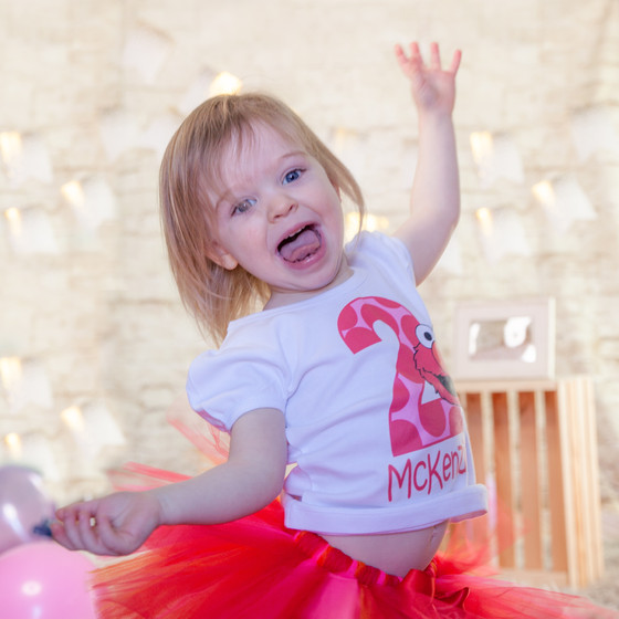 In-home 2nd Birthday Photoshoot