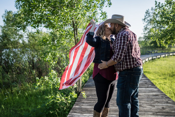 Crosswinds Marsh Country Engagement | Laurelle and Drew