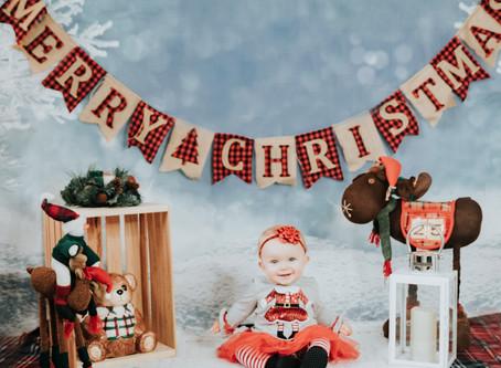 Morgan's Christmas Pics!