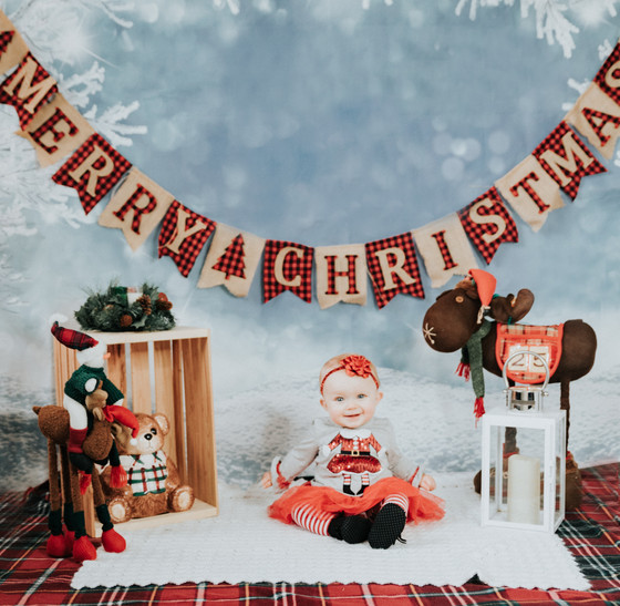 Morgan's Christmas Pics!