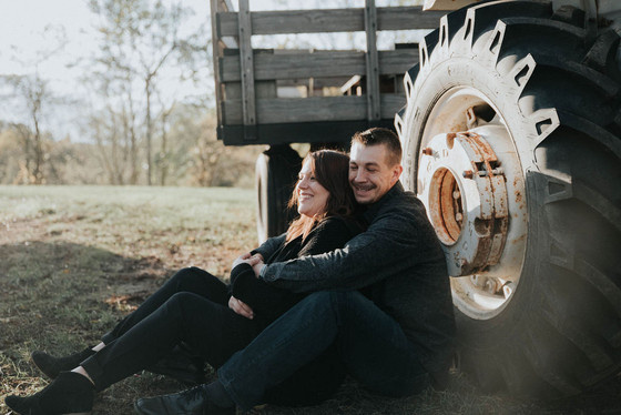 Rachel & Chris Engagement | Heritage Park, Farmington Hills