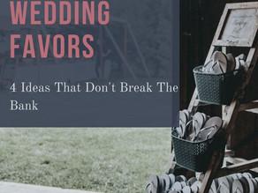 Unique, But Cheap Wedding Favors