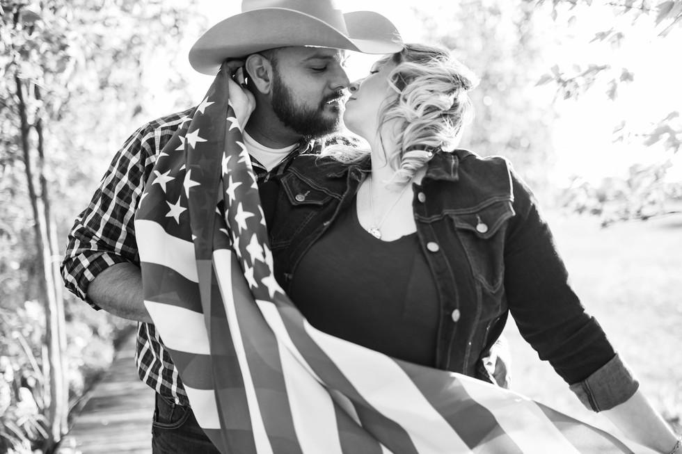american-flag-engagement