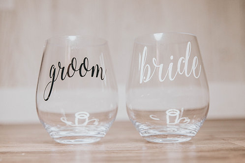 Bride/Groom Cups
