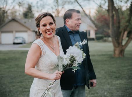 Small Covid-19 Backyard Wedding | Belleville, MI