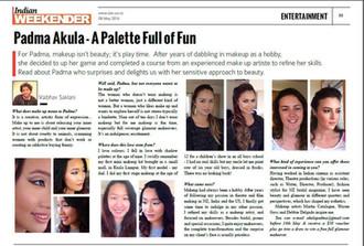 In The Press: Padma Akula - A Palette Full of Fun