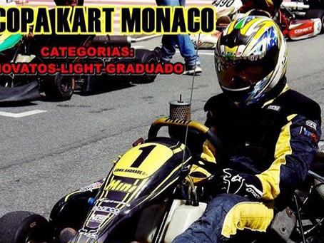 Quais as datas de eventos no Kart Mônaco?