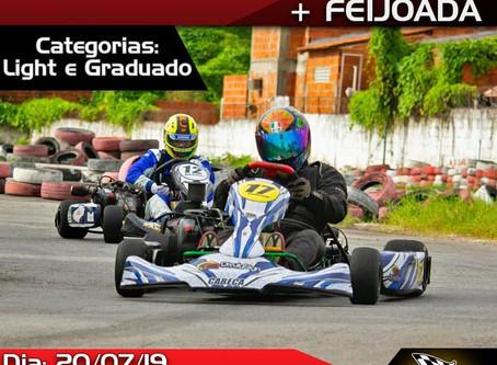 Treino Livre + Feijoada Kart Mônaco Fortaleza Dia 20/07/2019 às 9:30 h