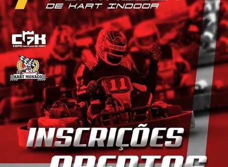 Premiação Campeonatos de Kart Indoor