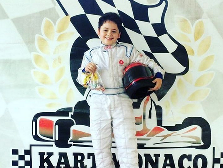 A partir de qual idade pode-se correr de kart?