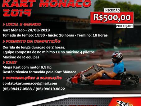Março de 2019: mês da maior festa de rua do mundo e de grandes eventos no Kart Mônaco Fortaleza