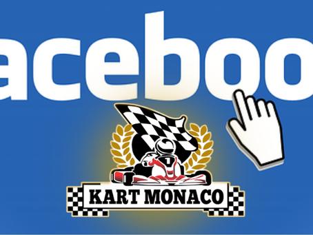 Você acessa o Face correto do Kart Mônaco?