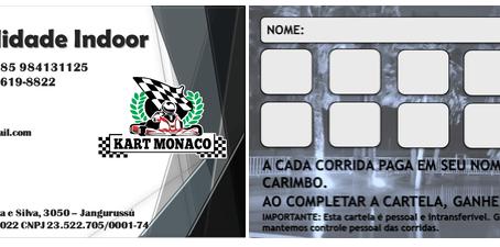 Cartão Fidelidade Kart Mônaco Fortaleza