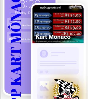 APP Kart Mônaco: conecte-se com a aventura!
