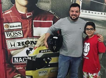 Homenagem de Kart Mônaco Fortaleza ao Dia dos Pais