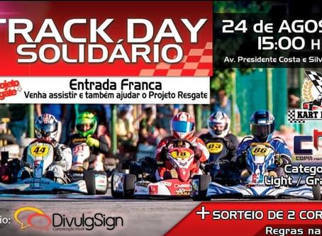 Track Day Solidário no Kart Mônaco Fortaleza dia 24/08 (Sábado) às 15h