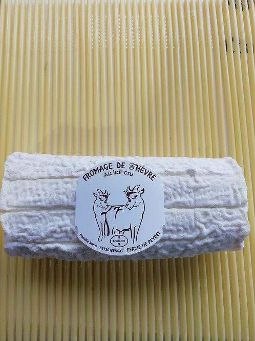 Buchette de chèvre au lait cru 1/2 affiné 180g