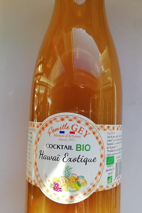 jus de fruit BIO cocktail hawai exotique 75 cl