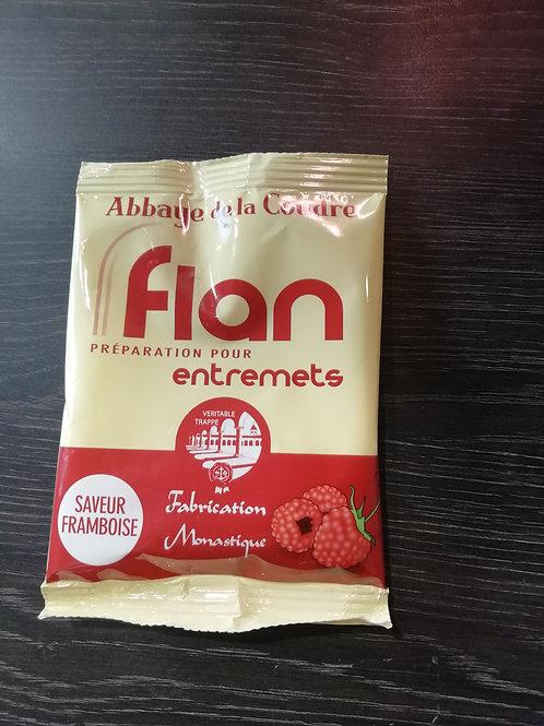 flan framboise préparation pour entremets 45g