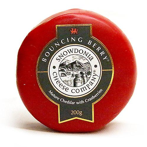 Cheddar cranberry 200g