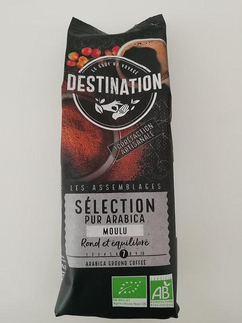 café pur arabica moulu BIO 250g