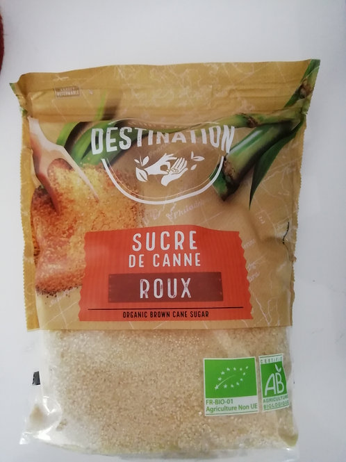 sucre roux de canne BIO 1kg