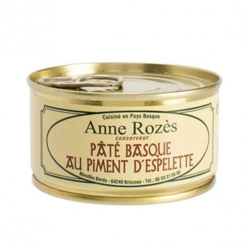 pâté basque piment d'espelette AOP 130g