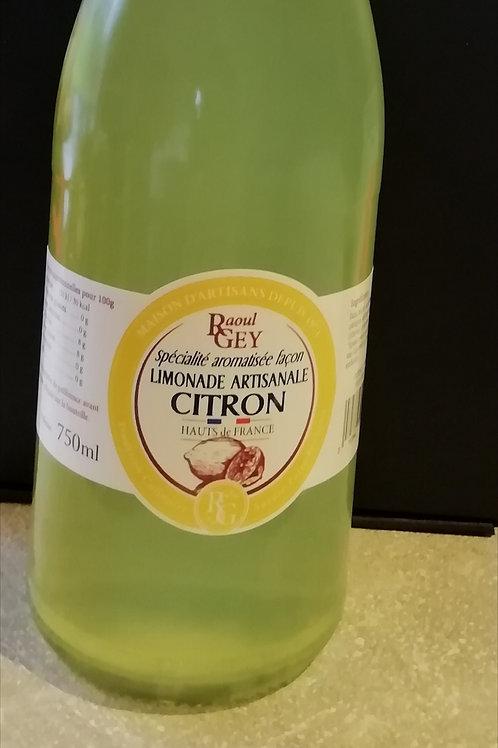 limonade artisanal au citron 750ml
