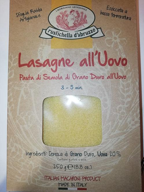 pâte italienne à lasagne 250g