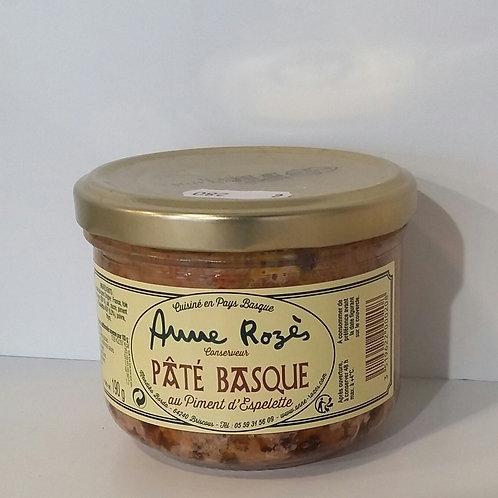 Pâté basque au piment d'espelette AOP 190G