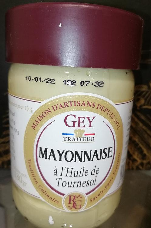 mayonnaise à l'huile de tournesol 21cl