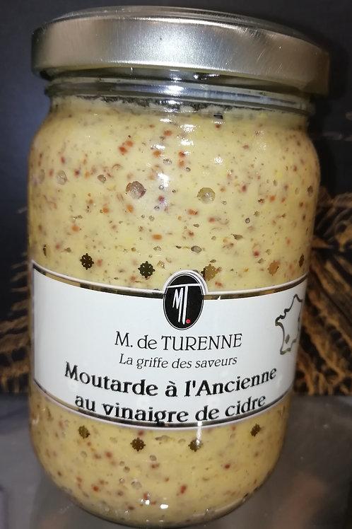 moutarde à l'ancienne au vinaigre de cidre 200g