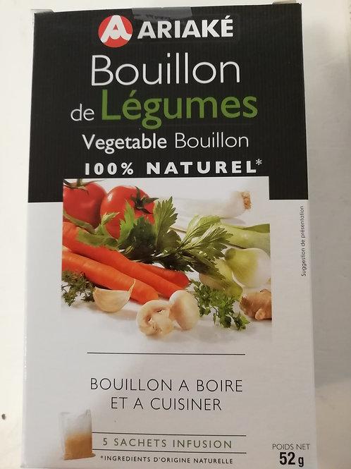 Bouillon de légumes 100% naturel en sachets 52gr