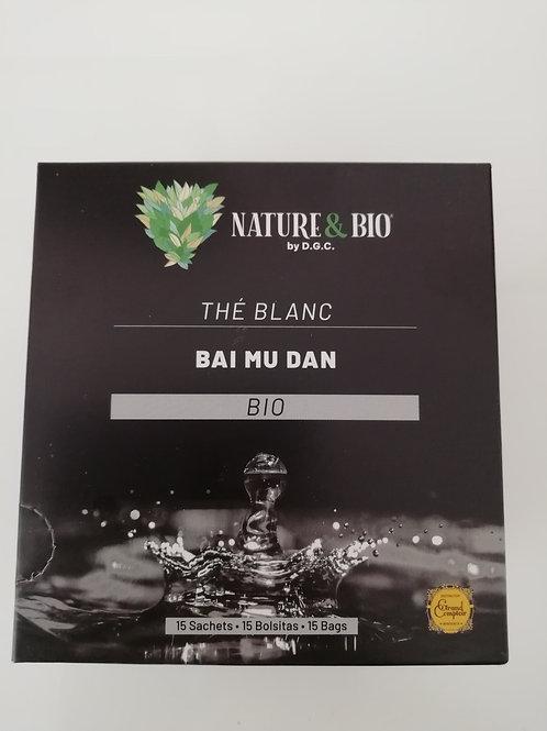 thé blanc bai mu dan BIO 30G