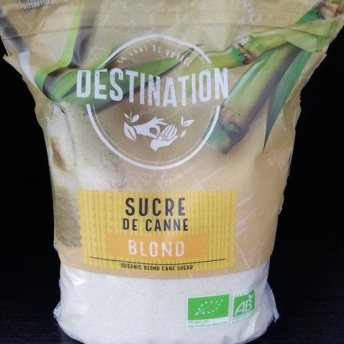 sucre blond de canne  BIO 1kg