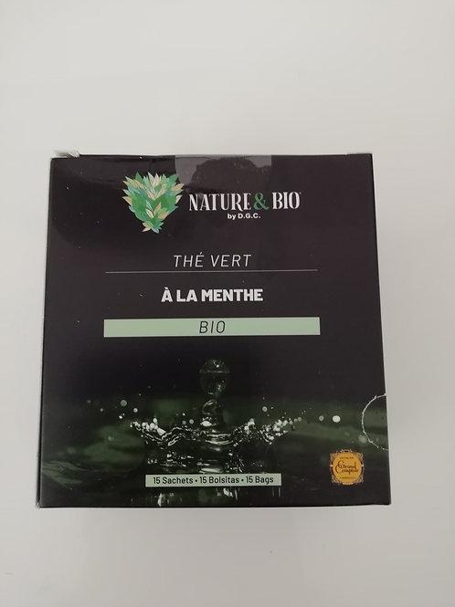 Thé vert à la menthe BIO 30G