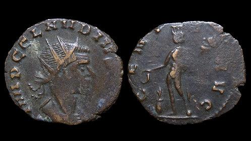 """CLAUDIUS II GOTHICUS . AD 268-270 . Antoninianus . """"GENIVS AVG"""""""